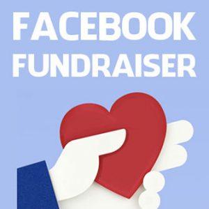 Fundraiser on facebook